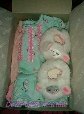 NEW IN BOX American Girl BITTY BABY LAMBIE PJ'S for 15
