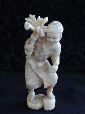 Man with Flower Figurine circa 1880s