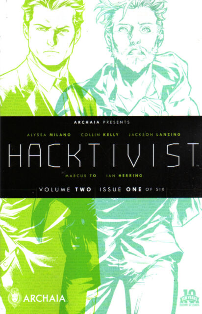 HACKTIVIST (2015) #2 (of 6) New Bagged