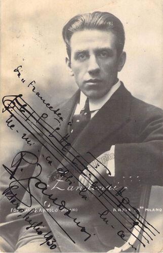 Zandonai, Riccardo - Signed Photograph with Music Quote