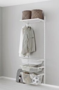 Ikea Algot Storage Rack with Baskets
