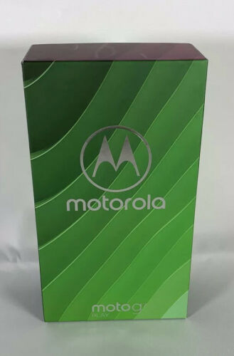 Moto G7 Play 32GB Unlocked Deep Indigo XT1952-4 Brand New Factory Sealed
