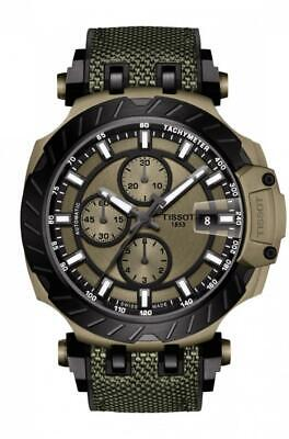 Tissot T-Race Moto GP 2019 Automatic Khaki Dial Men's Watch T115.427.37.091.00