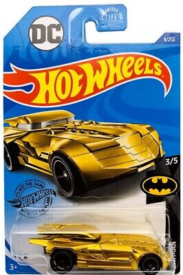 Hot Wheels 2020 Batmobile (Gold) Batman  F Case Beautiful and VHTF RARE LOOK !!