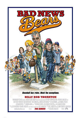 Bad News Bears Movie Poster 2 Sided Orig Final 27x40