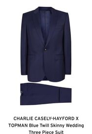 BRAND NEW TOPMAN WEDDING SUITS