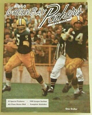 GREEN BAY PACKERS 1960 YEARBOOK FIRST YEAR ~ ~ MINT ~ ~