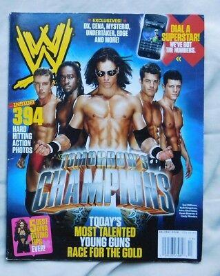WWE MAGAZINE Holiday 2009 Ted DiBiase Kofi Kingston John Morrison Kodi Rhodes