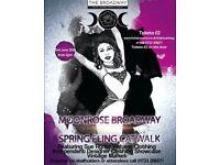 Moonrose Broadway Spring Fling Catwalk Show
