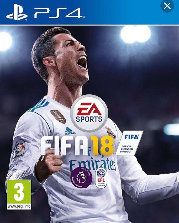 New FIFA 18 unwanted present £50 in Tesco etc. £45