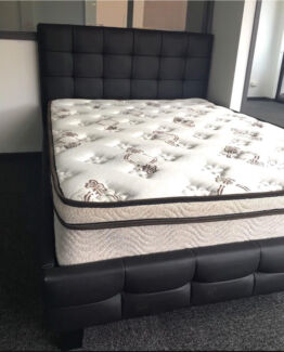 Brand new Patterned Pu Leather Beds - NEW