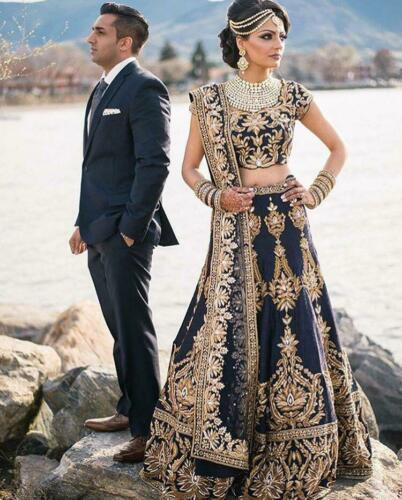 Bollywood Indian Lehenga Pakistani Bridal Party Wedding Designer Lengha Choli