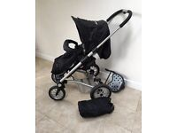 Mutsy 4 rider walking/hiking jogger pushchair