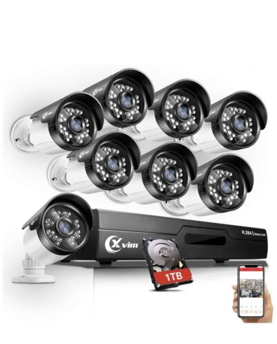 XVIM 720P Outdoor Home Security Camera System - 8 Channel 10