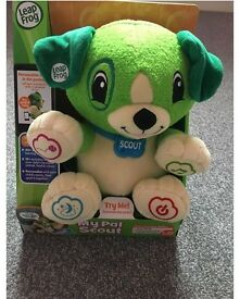 Leap frog my pal scout brand new
