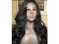 """24"""" Brazilian Silk Top Full Lace Wig, 150% heavy density"""