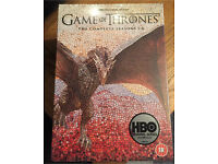 Game of thrones seasons 1-6 complete DVD box set new sealed 1 2 3 4 5 6