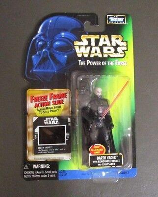 Darth Vader Removable Helmet STAR WARS Power of the Force POTF FF Freeze Frame Darth Vader Removable Helmet
