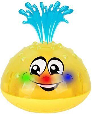 Baby Children Spray Water Squirt Bath Toy Kid LED Light Up F