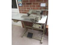 Brother Model CM2-B931 industrial blind hemming sewing machine.