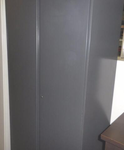 Armoire m tallique 78 tiroirs et tablettes armoire metal rangement - Alinea armoire metallique ...