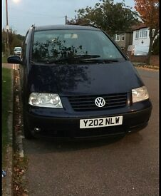 Vw Sharan 1.9 TDI automatic 2001 sport