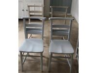 School / church wooden chairs