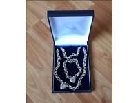 Womens jewellery set Sterling silver combo