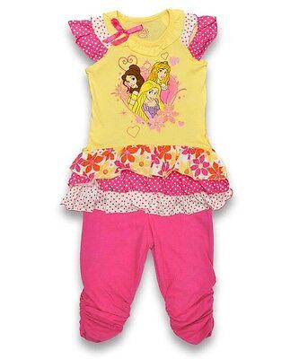 Baby Mädchen Disney Prinzessin Oberteile & Leggings 2 - Baby Disney Prinzessinnen
