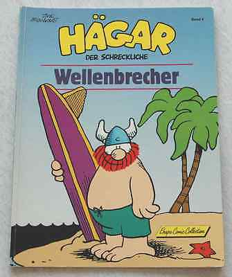 HÄGAR   Band 4  >WELLENBRECHER<   Dik Browne   Ehapa Comic Collection  1990