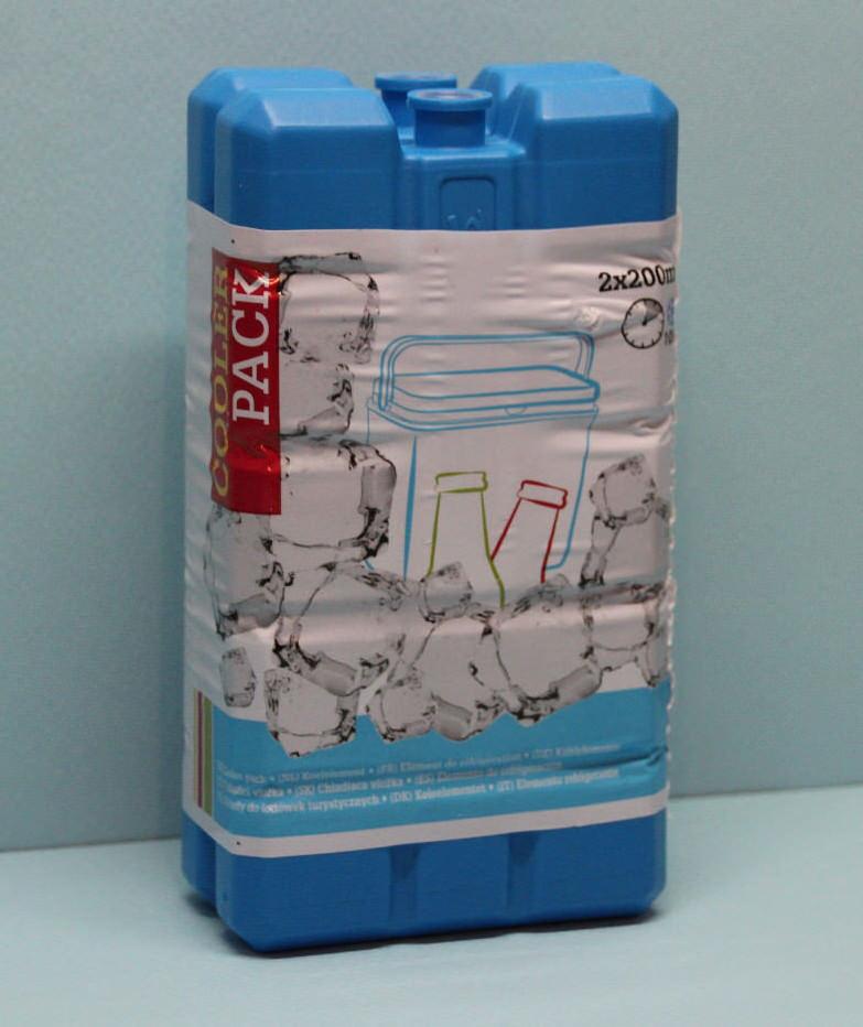 Kühlakku 2 x 200 ml / 2×200 ml / Kühlblock Kühltasch…  