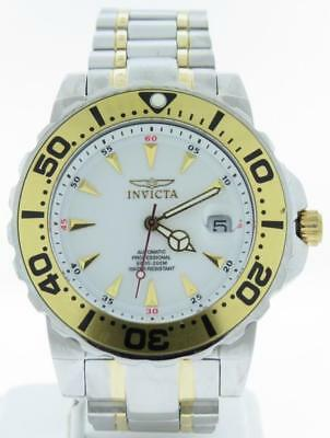 MENS INVICTA AUTOMATIC PROFESSIONAL STAINLESS STEEL 21 JEWELS MODEL NO. 4024