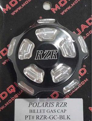 ModQuad Black Billet Gas Fuel Cap for Polaris RZR 570 800 900 1000 RZR-GC-BLK