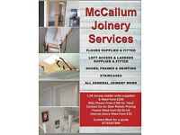 All your joinery needs