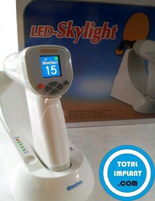Dental Dmetec Super Power Led Curing Light Upto 2800mw In Two Second 3m