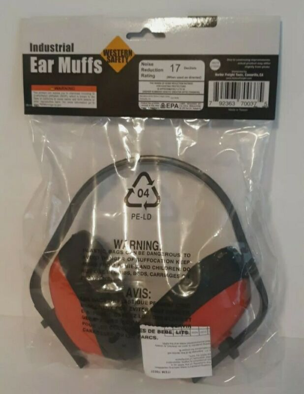 Hearing Protection Ear Muffs Construction Shooting Noise Hunting Sports Safety