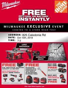 Milwaukee Power Tool Event - The Home Depot (825 Caledonia Rd)