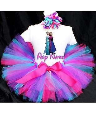 Frozen Birthday Tutu Outfit Birthday Dress Up Custom Any Name - Frozen Birthday Outfit