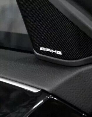 1x AMG Sticker Emblem Logo Aufkleber Mercedes C CL CLS E S SL SLK ML GL B 63 GLE