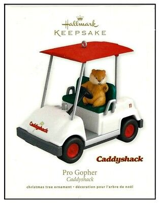 2011 Hallmark Caddyshack Pro Gopher Ornament
