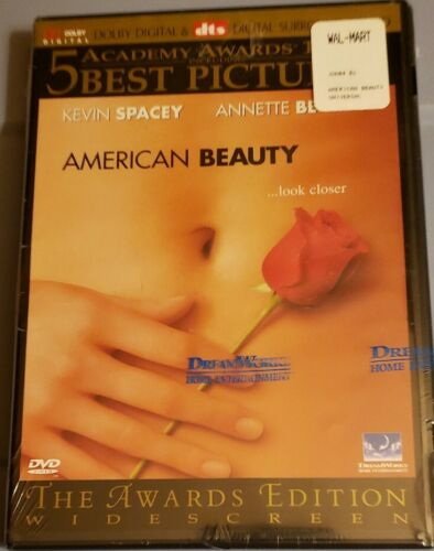 BRAND NEW American Beauty DVD, 2000, Limited Edition, Widescreen FREE SHIP - $7.99