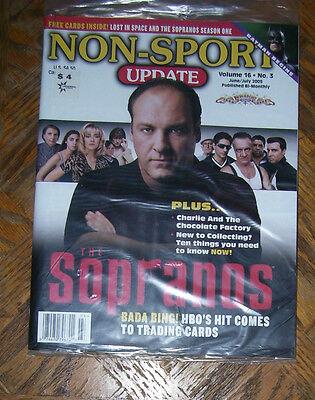 NON-SPORT UPDATE VOL 16 NO 3 JUN 2005 - JULY 2005 The Sopranos