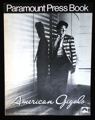 American Gigolo-1980 Richard Gere Movie Pressbook-vintage ads, poster photo