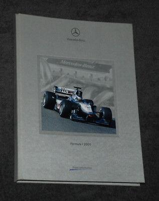 Press Media Kit Formula1 Formel1 Mercedes West McLaren MP4-15   - Saison 2000