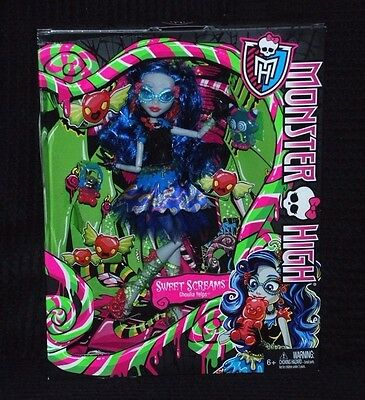 Monster High Sweet Screams Ghoulia Yelps Doll BNIB