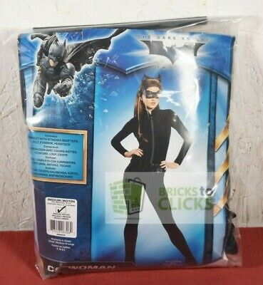 Halloween Costume Dress-Up Dark Knight Batman Catwoman Adult Medium 10-14
