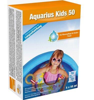 Chlorfreie Wasserpflege Speziell für Kinder Pools Aquarius Kids