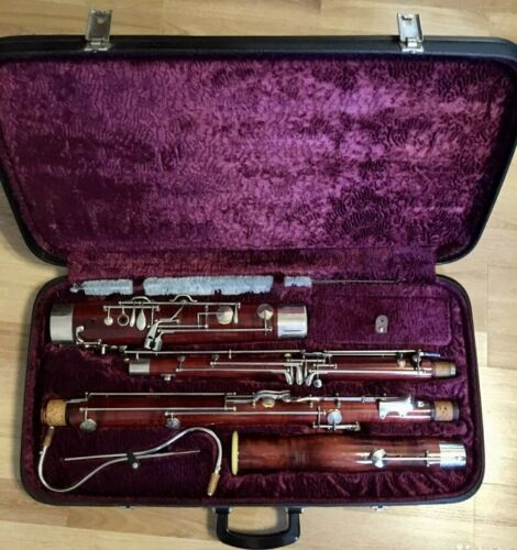 Vintage Bassoon Amati Kraslice made in Czechoslovakia very good condition