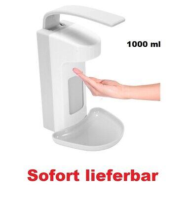 Desinfektionsspender Desinfektionsmittelspender mit Tropfschale Seifenspender 1L