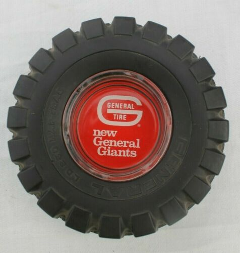 Vintage General Tire General Giants Ashtray
